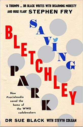 Book cover: Saving Bletchley Park